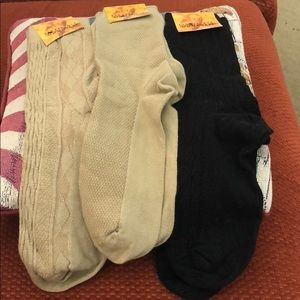 Bundle mid socks NEW 75% cotton 25% Lyra comfy